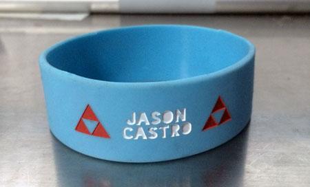 Jason Castro Silicone Rubber Wristband