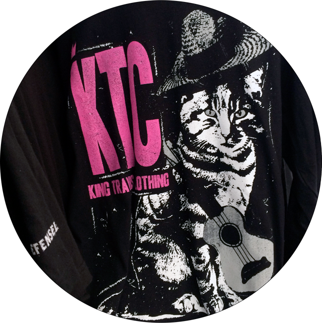 KTC King Travis Clothing cat wearing sombrero sweatshirt