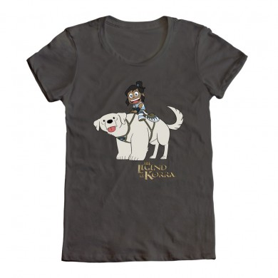naga-korra-chibi legend of korra t-shirt
