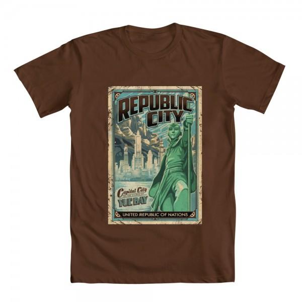 republic city legend of korra t-shirt