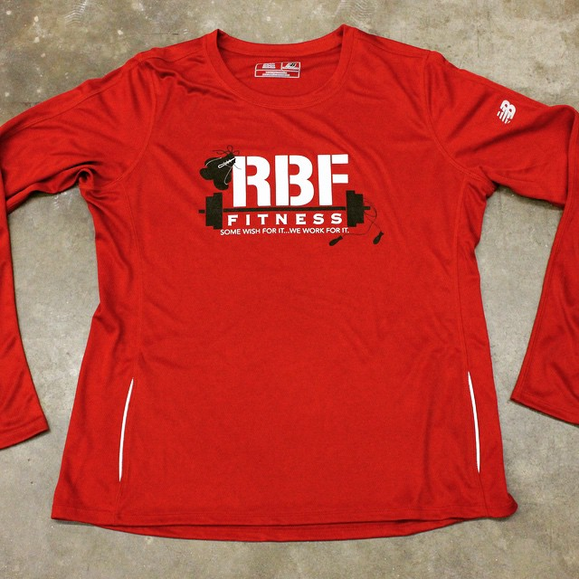 RBF Fitness performance custom shirt