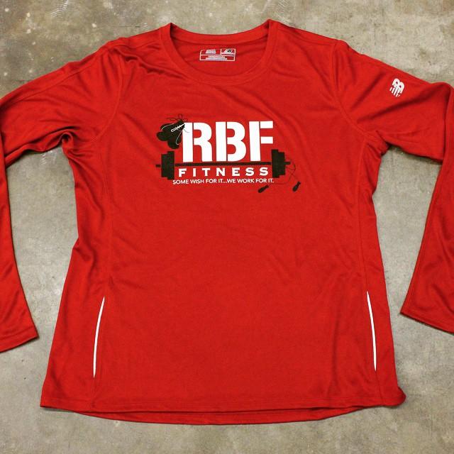 RBF Fitness performance custom shirt