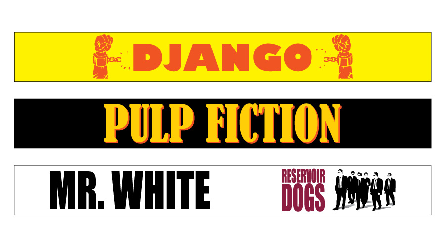 Tarantino Wristbands