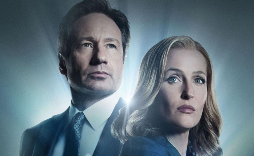 Dana Scully and Fox Mulder of The X-Files