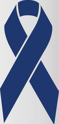 ribbon color of dark blue
