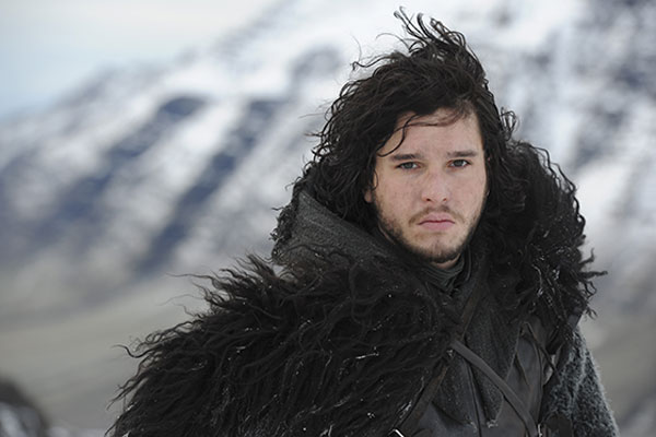 Jon Snow from Game of Thrones in Crow Night's Watch uniform