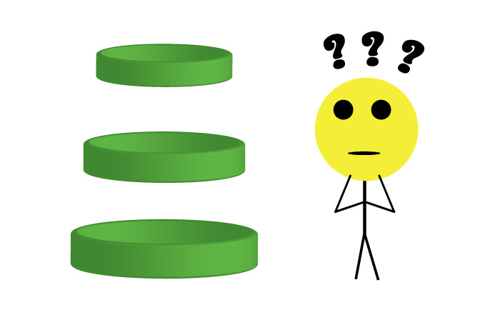 stick figure confused over custom rubber bracelet size